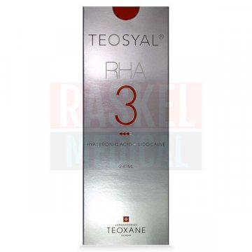 TEOSYAL® RHA3 23mg/ml, 3mg/ml 2-1ml prefilled syringes