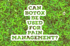 Can Botox be used for pain management